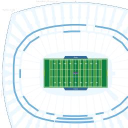 Arrowhead Stadium Interactive Football Seating Chart