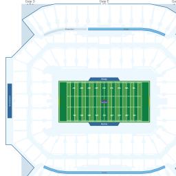 Camping World Stadium Interactive Football Seating Chart