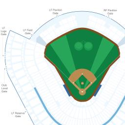 Dodger stadium interactive baseball seating chart
