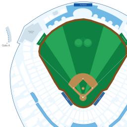 Kauffman Stadium Interactive Baseball Seating Chart