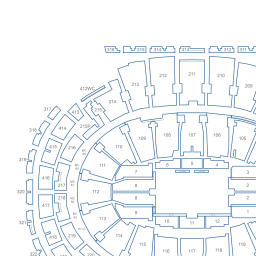 Madison Square Garden Interactive Basketball Seating Chart
