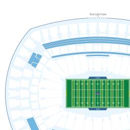 Metlife Stadium Interactive Football Seating Chart