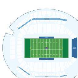 Mosaic Stadium Interactive Football Seating Chart