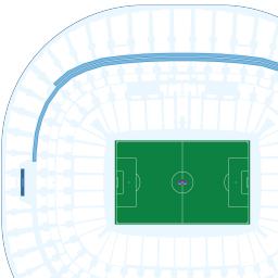Wembley Stadium Interactive Seating Chart